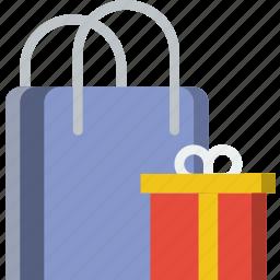 birthday, celebration, gifts, party icon
