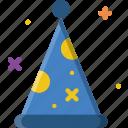 birthday, celebration, hat, party