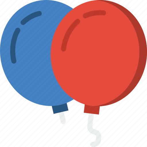 Balloons, birthday, celebration, party icon - Download on Iconfinder