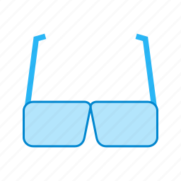 eye, fashion, glasses, style, sun, sunglasses, white icon