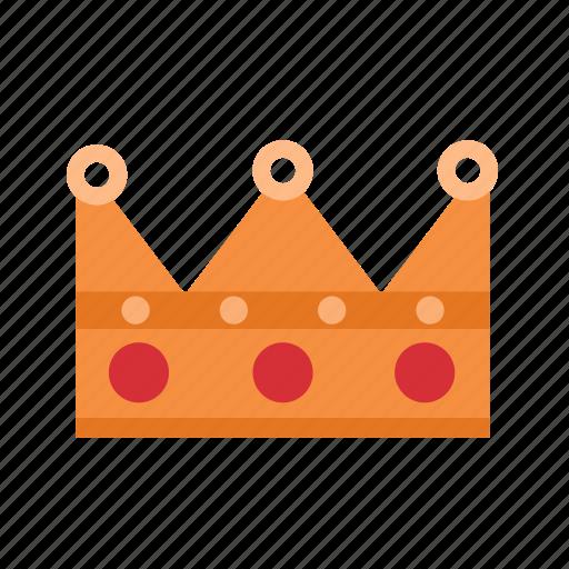 crown, gold, king, prince, princess, queen, royal icon