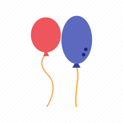balloon, balloons, birthday, decoration, festive, happy, party icon