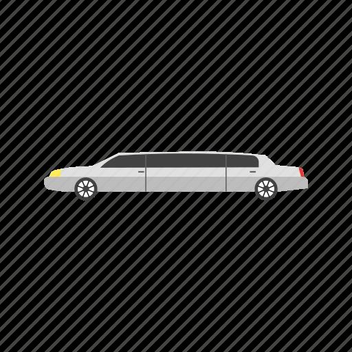 business, car, celebration, chauffeur, limousine, luxury, wedding icon