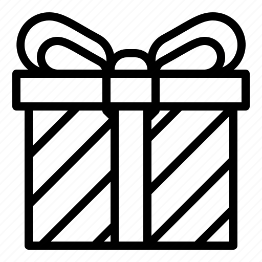 birthday, gift, paper, party, present, surprise, wrap icon