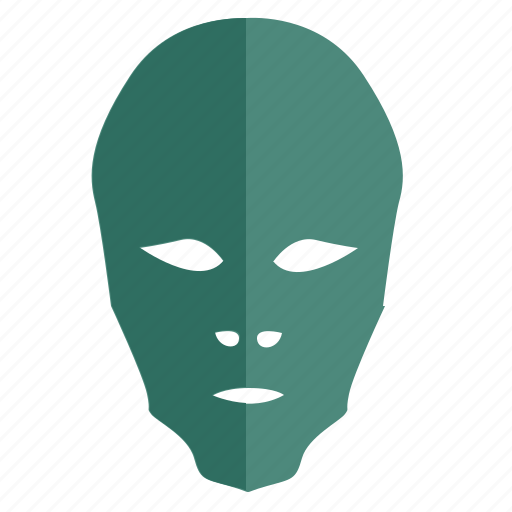 alien, face, hero, man, mask, party icon