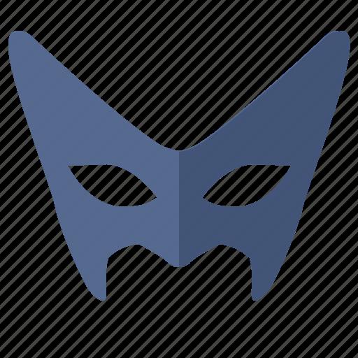 bat, batman, face, hero, mask, party icon