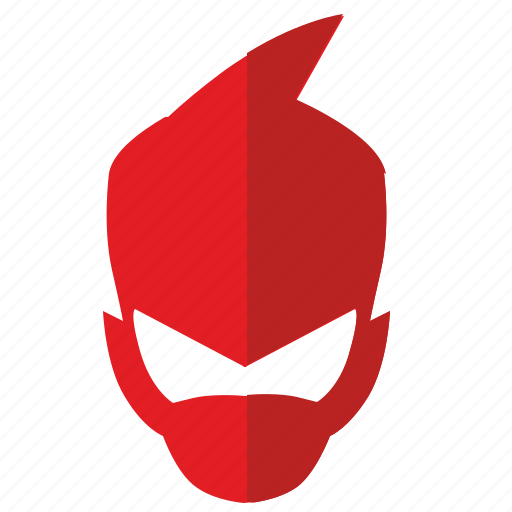 boy, comix, hero, mask, party icon