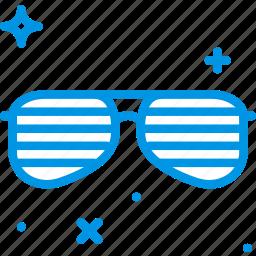 birthday, celebration, party, sunglasses icon