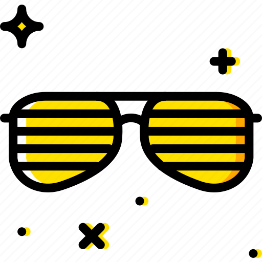birthday, celebration, party, sunglasses icon