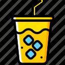 birthday, celebration, party, soda icon