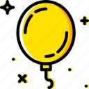 balloon, birthday, celebration, party icon