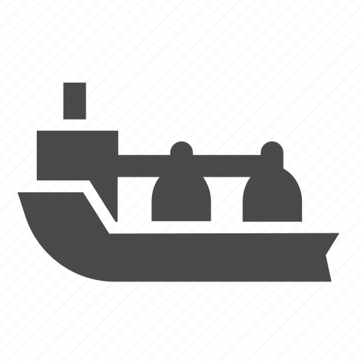 boat, carrier, gas, industrial, marine, ship, transport icon