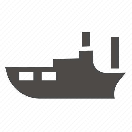 boat, marine, passenger, ship, transport icon