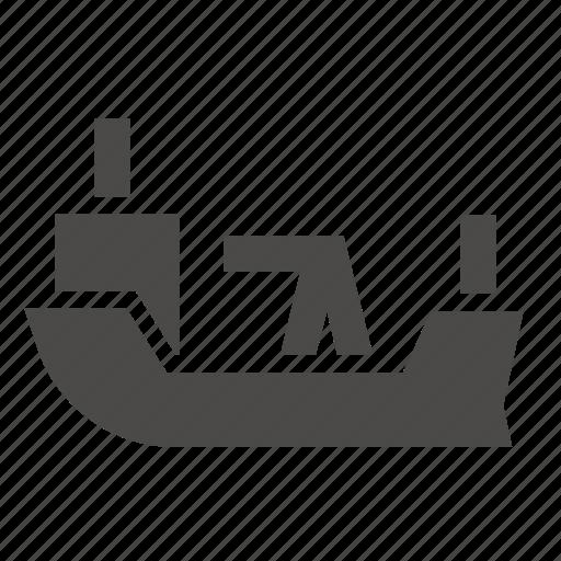 boat, industrial, marine, oil, ship, tanker, transport icon