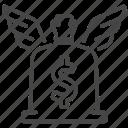capital, cash, financial, freedom, income, money, passive icon