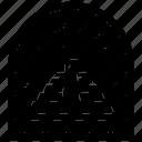 island monogram, island stamp, passport stamp, state monogram, travel logo icon