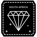 passport stamp, postage stamp, print sticker, south africa stamp, visa stamp