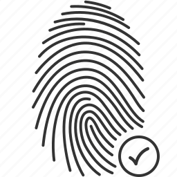 accepted, finger, fingerprint, recognition, scan, security, touch icon