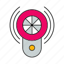 alarm, protect, protection, security, sound, tool icon