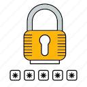 padlock, protect, protection, security icon