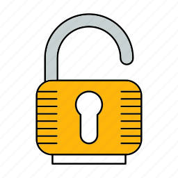 padlock, protect, protection, security, unlock icon