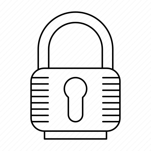 lock, padlock, password, protection, security, tool icon