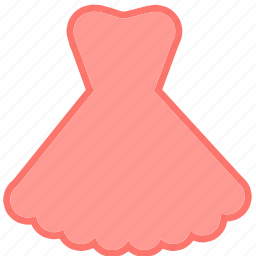 beauty, clothes, clothing, dress, fashion, pastel dress, woman icon