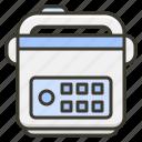 cooker, crockpot, kitchen, multicooker icon
