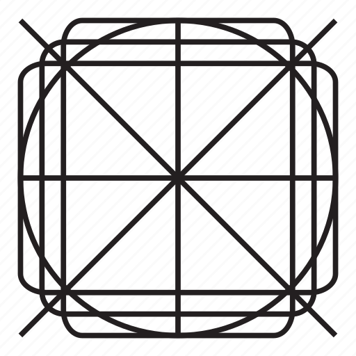 cross, grid, pattern, x mark icon