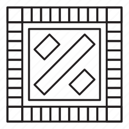 board, game, grid, monopoli, pattern icon