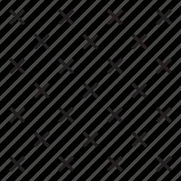 cross, grid, line, pattern icon