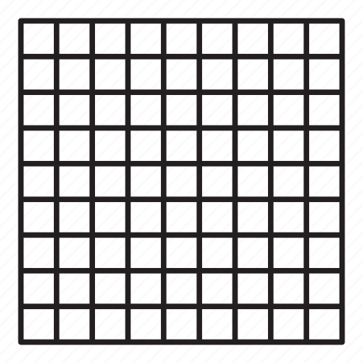 grid, line, pattern, square icon