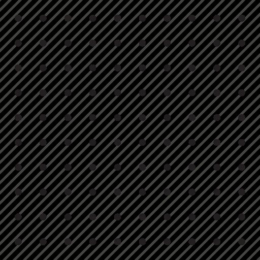 grid, pattern, point, round icon