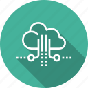 cloud, data, review, setting icon