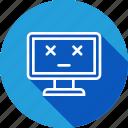 computer, death, off, shutdown icon