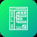 analytics, billing, data, document, report icon
