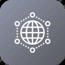 glob, international, setting, world icon