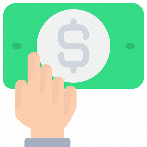 banking, business, cash, finance, money, payment icon