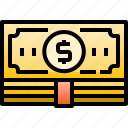 cash, currency, economic, finance, money, payment icon