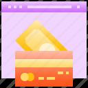 card, cash, credit, debit, online, payment, shopping