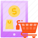 commerce, online, payment, retail, shopping, tablet
