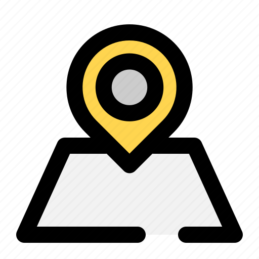 location, maps, place icon