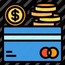 card, cash, coin, credit, money