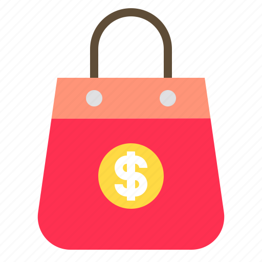 bag, cash, money, payment, shopping icon