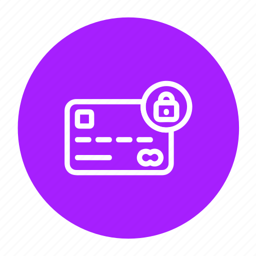 credit card, debit card, lock, master card, payment, secure, transaction icon