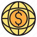 buy, card, credit, money, payment, sale, world icon