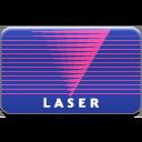 card, laser icon