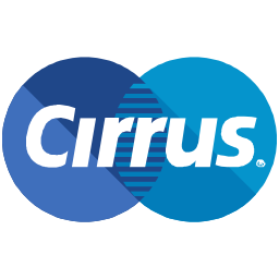 cirrus, finance, logo, method, online, payment icon