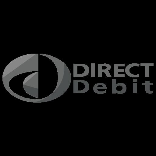 debit, direct, finance, logo, method, online, payment icon