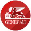 finance, generali, logo icon